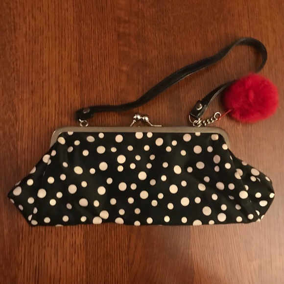 Icing Handbags - Polka dot purse